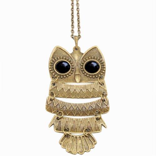beyondfashion-vintage-antique-black-eye-bronze-owl-retro-long-necklace-jewelry-pendant