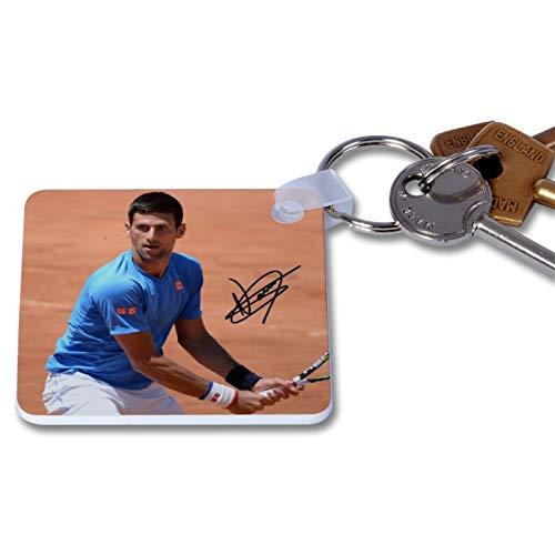 Novak Djokovic - Wimbledon - Tennis 1 Novelty Keyring Printed Autographed Key Chain