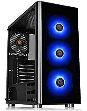 V200 TG RGB/Black/Win/SPCC/Tempered Glass*1/120mm RGB Fans*3 + 120mm Standard Fan*1/MB Sync