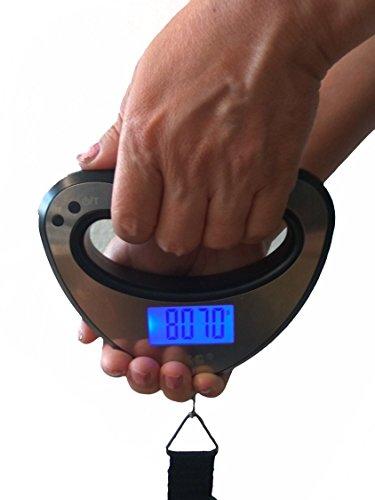 44kg/10g ocs-xy B da valigetta bilancia bagagli bilancia per valigia da viaggio bilancia G & g