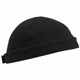 MYRTLE BEACH - bonnet polaire style marin - MB7605 - coloris noir