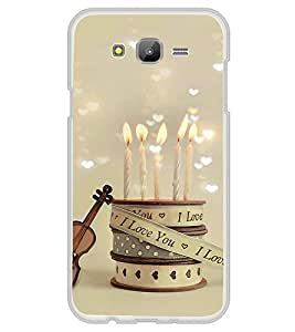 I Love you candles 2D Hard Polycarbonate Designer Back Case Cover for Samsung Galaxy J5 (2015 Old Model) :: Samsung Galaxy J5 Duos :: Samsung Galaxy J5 J500F :: Samsung Galaxy J5 J500FN J500G J500Y J500M