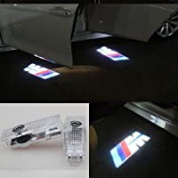 OUTOWIN CY-BM-M Sportello D'Auto LED Illuminazione di Cortesia Proiettore 2 Pezzi