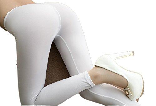 Lazutom Damen Leggings mehrfarbig mehrfarbig One size Weiß
