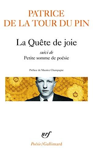 La Quête de joie / Petite somme de poésie par Patrice de La Tour du Pin