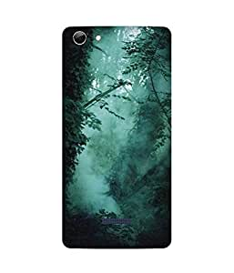 Green Forest Micromax Canvas Selfie 3 Q348 Case