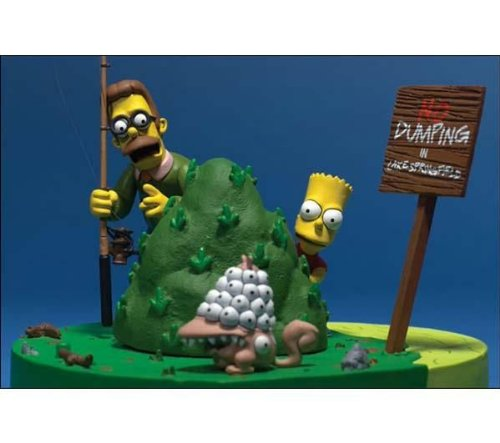Simpsons Movie: What You Looking At Box Set - Bart & Flanders Simpsons-box-set