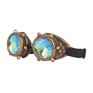 Bristol Novelty BA3229 - Gafas de caleidoscopio para hombre, mujer, color bronce