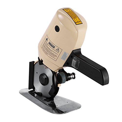 BuoQua 100MM Elektroschere für Stoff 250W Rundklingen Cutter Achteckige Elektrische Universalschere