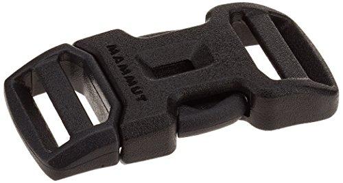 Mammut Erwachsene Dual Adjust Side Squeeze Ersatz-Steckschnalle, Black, 15 mm