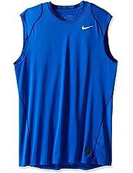Nike–Camiseta de manga corta de entrenamiento de Dri Fit Pro Cool Ajustable Sin Mangas Para