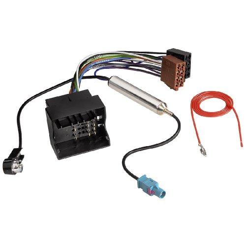 Kfz-ISO-Adapter mit Phantomeinspeisung für AUDI + VW