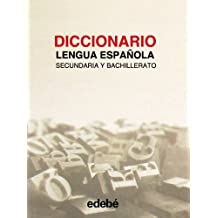 Diccionario lengua española secundaria y bachillerato