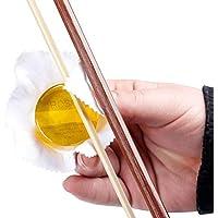 Dilwe Streich Instrument Kolophonium, High Sensitive Soild Rund Kolophonium mit dauerhafte Adhesive Force für Violine Erhu Cello Viola