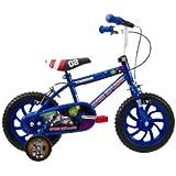 Townsend Boy's Space Explorer Bike - Blue, 3-5 Years