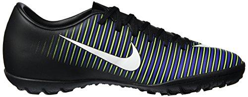 Nike Men 831968-013 Scarpe Da Calcio Nere (nero / Bianco-elctrc Verde-prmnt Bl)