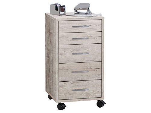 Rollcontainer Rollschrank Container Schreibtischcontainer Büro 'Pit'