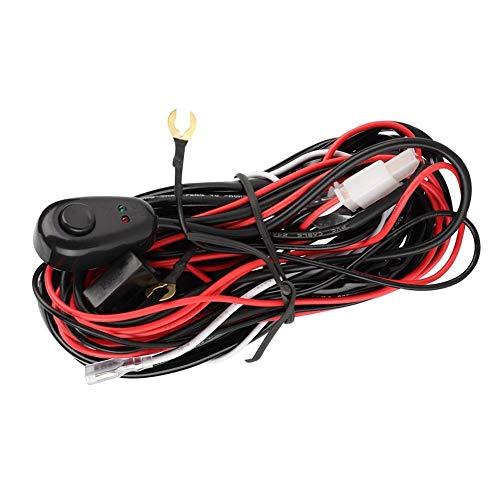 Cablaggio elettrico, 2 metri Cablaggio per auto 70W 12V per controllo barra luminosa da lavoro a LED