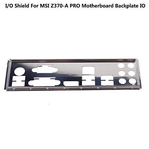 BAAQII E/A-Abschirmung für MSI Z370-A PRO Motherboard Backplate IO -