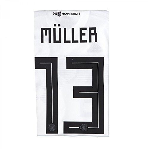 adidas Herren DFB Home Trikot 2018 Müller XXL