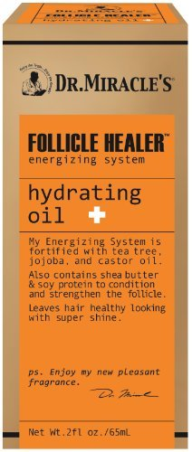 Dr. Miracles Follicle Healer Hydrating Oil 2oz by Dr. Miracle's