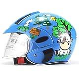 ExcLent Universal Kinder Helme Motorrad Kinder Baby Schutzhelm - BLAU
