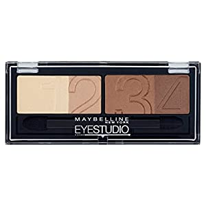 Maybelline Eye Studio Quad 5 Glamour Browns - eye shadows (Brown, Glamour Browns, Satin, Italy)