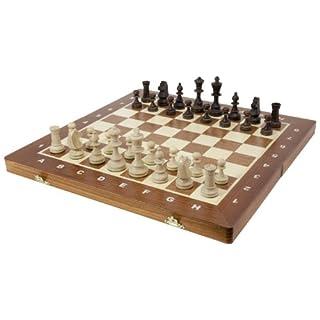 Albatros 1333 - Turnier-Schachspiel nach Staunton 4, 42 x 42 cm