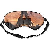 Eiffel Tower Paris Natural Silk Sleep Mask Comfortable Smooth Blindfold for Travel, Relax preisvergleich bei billige-tabletten.eu