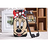 Disney Minnie Mickey Mouse Face iPhone/Samsung placa delantera y trasera cubierta de la caja, iPhone 6 Plus