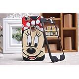 Disney Minnie Mickey Mouse Face iPhone/Samsung placa delantera y trasera cubierta de la caja, iPhone 6
