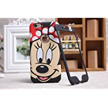 Disney Minnie Mickey Mouse Face iPhone/Samsung placa delantera y trasera cubierta de la caja, Samsung Galaxy Note 3