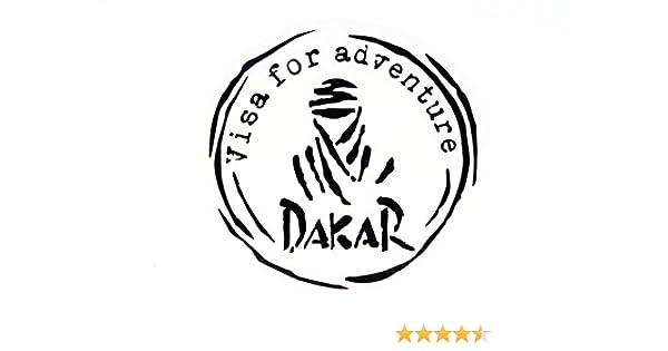 Set de d/écalques Dakar Noir Mat