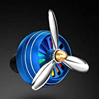 Fanyong Fashion Decoration Aluminum Alloy Car Air Vent Outlet Perfume Clip Rotate Fan
