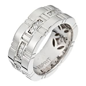 Esprit Damen-Ring Woven Curves Sterling-Silber 925 Gr. 53 (16.9) ESRG-91419.A.17