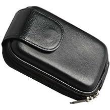 digiETUI 12779 Compact case Black - Camera Cases (Compact case, Canon, IXUS 860/IXUS 80/IXUS 95/IXUS 100 IS/IXUS 105/IXUS 130/PowerShot A490/Powershot A495, Black)