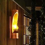 WEI Nachttisch Wandleuchte American Bedroom Iron Einzelkopf Lampe Retro Hotel Wandleuchte Zimmer Korridor Belüftung Gang Lampe
