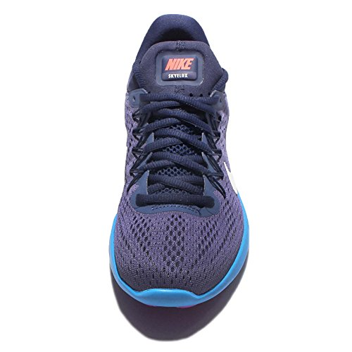 Nike 855810-004, Sneakers trail-running femme Dark Purple Dust/White/Loyal Blue