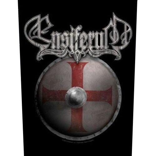 Ensiferum-Toppa Shield (in 23,5cm x 20cm)
