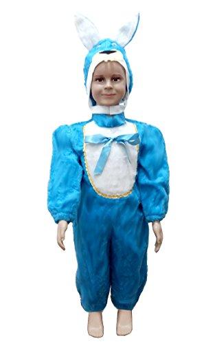 (Tamaño 2-3 años) Bunny Disfraz For niños Carnaval Halloween Masquerade Cosplay Idea de regalo