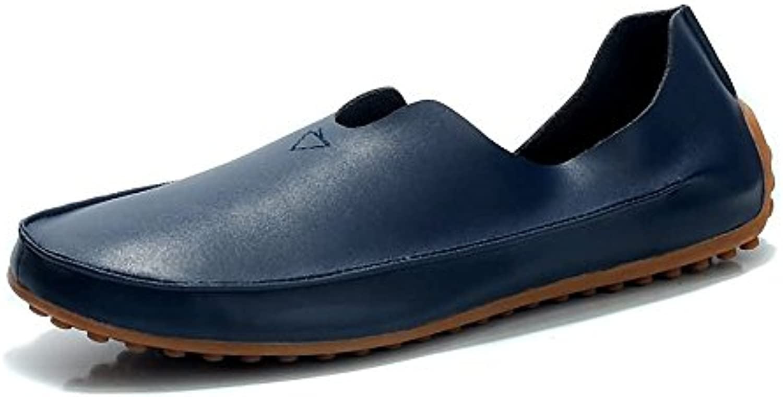 Xiazhi-scarpe, Men Minimalism Loafer Casual Casual Casual Wind Super Fibre Leather Large Dimensione Mocassini Mocassini da barca traspiranti... | Autentico  fd199c