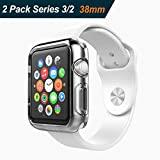 iVoler [Lot de 2] Coque pour Apple Watch 38mm Series 2 2016 / Series 3 2017, [ Ultra...