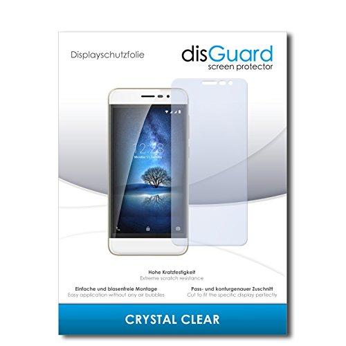 disGuard® Bildschirmschutzfolie [Crystal Clear] kompatibel mit Coolpad Torino S [2 Stück] Kristallklar, Transparent, Unsichtbar, Extrem Kratzfest, Anti-Fingerabdruck - Panzerglas Folie, Schutzfolie
