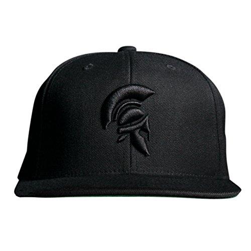 MARQUE NOIRE – BLACK SPARTAN Snapback - Cap, Baseball Caps, Herren Damen Unisex (Rüstung Brad)