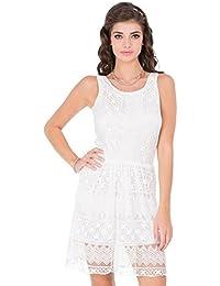 CAY Stylish & Trandy Women's White Dress