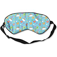 Rainbow Heart Clouds Sleep Eyes Masks - Comfortable Sleeping Mask Eye Cover For Travelling Night Noon Nap Mediation... preisvergleich bei billige-tabletten.eu