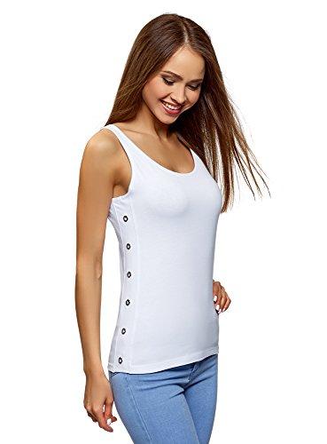 Oodji Ultra Mujer Camiseta Tirantes sin