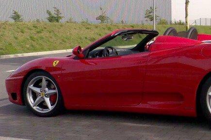 NoLimits24 Erlebnisgutschein - Ferrari fahren F360 Spider F1 - 60 Minuten in Siegen (Nordrhein-Westfalen, Deutschland)