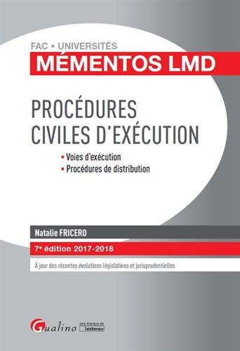Procdures civiles d'excution