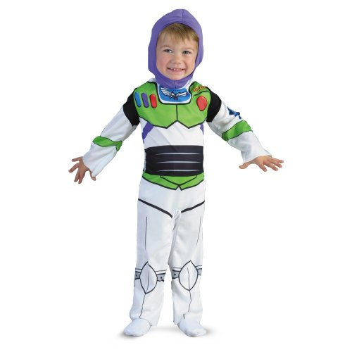 Disguise 187302 Toy Story Buzz Lightyear-Klassiker (Kleinkind Lightyear Kostüme Buzz)
